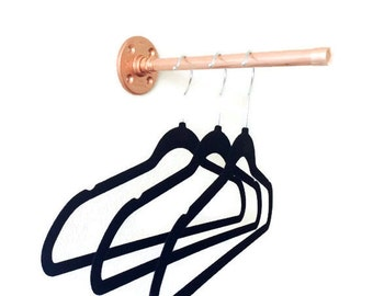 Copper Pipe Clothing Rack Rod