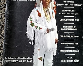 True West magazine//1962//vintage//western//the last marshal//very good condition!