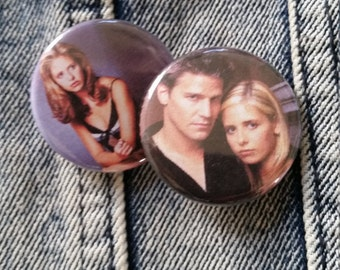 Your choice Buffy The Vampire Slayer handmade 1-1/4 inch pinback button pin pins buttons pingame badge badges