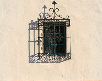 Santa Barbara Ironwork window