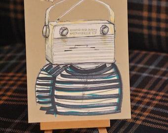 Radiohead Postcard
