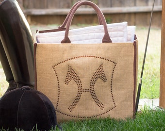 Hanoverian Warmblood Crystal Tote