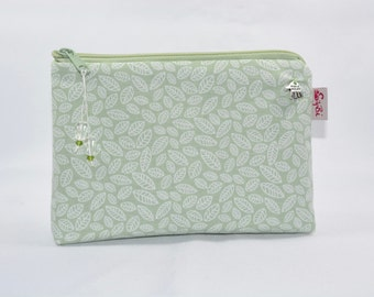 Blue small white sheets Makeup bags
