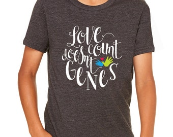 Love Doesn't Count Genes Youth Tee