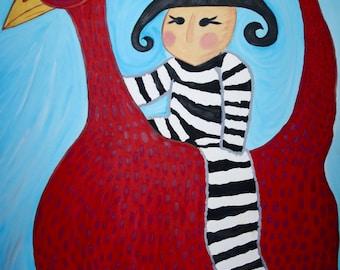 Prisoner on BirdHorse
