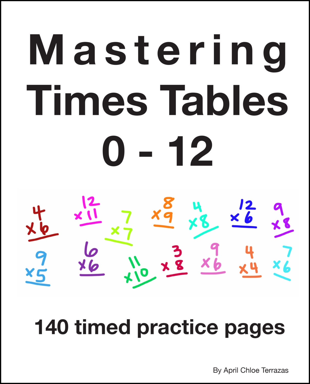 Mastering times tables 0 12 for 0 12 multiplication table
