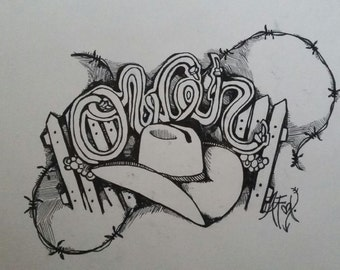 Custom Name Drawing