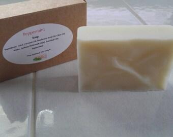 Peppermint Bar Soap 3.5 oz
