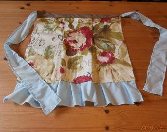 Half apron, retro hostess style.