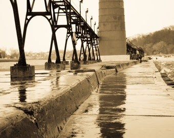 Grand Haven Lighthouse Photo