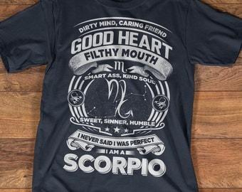 Scorpio T-shirt | Scorpio Shirt| Zodiac Astrology Shirt | Birthday Gift | Scorpio Zodiac Sign | Scorpio Horoscope Girl |  Available S-3XL