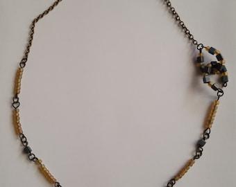 unique handmade beaded necklace