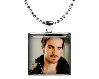 Captain Hook Once Upon a Time Necklace Pendant Fandom Jewelry  Cosplay Fangirl Fanboy