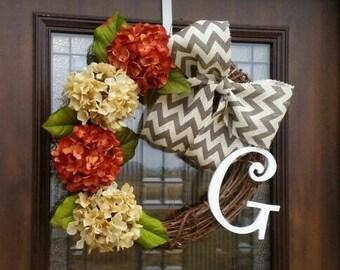 Perfect Fall Grapevine Wreath