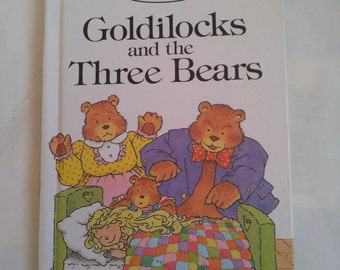 Ladybird Goldilocks and the Three Bears Well Loved Tales  Vintage book 1980s