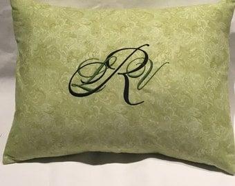Monogram Pillow, Home Decor
