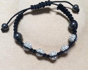 Small Crystal Ball Bracelet