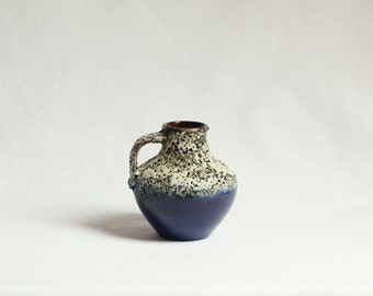 Vintage, Carstens 6000-15, Fat Lava Vase, Retro, West Germany, 1960s, 1970s