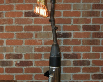 Exhausted Lamp - Industrial Table Lamp, Floor Lamp, Accent Lamp