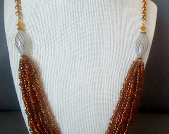 Brown Gypsy Necklace
