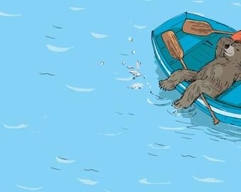 Little Bear's Little Boat Spread