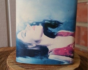 PJ Harvey To Bring You My Love Stainless Steel Decoupage 8oz. Hip Flask