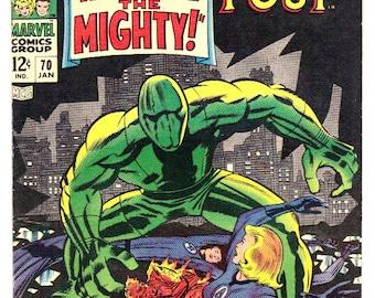 Fantastic Four #70 (1968) VF 8.0  Jack Kirby art