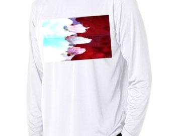 AEDRAN: 'Splash' -Graphic Long Sleeve Tshirt