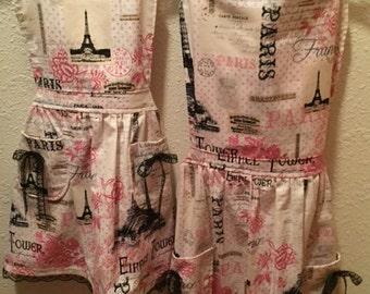 Mommy & Me Aprons - Let's Go to Paris!