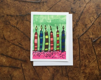 Birthday Cards, Happy Birthday Cards, Birthday Greetings, Birthday Greetings Card, Birthday Candles,  Autism Awareness Products