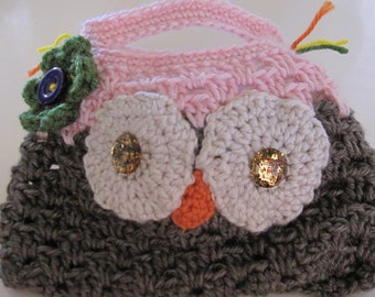 Owl Child Purse