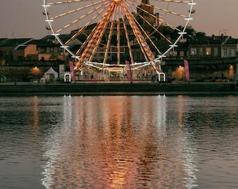 Big Wheel Reflection