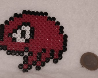 Pixel art Knuckles