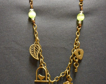 5 Charm Necklace