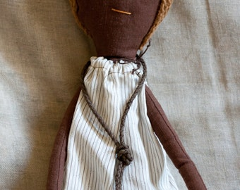 Rag doll. Ginette Moundou - A Rag Dolls Collection.