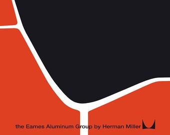 Vintage Herman Miller Eames Poster