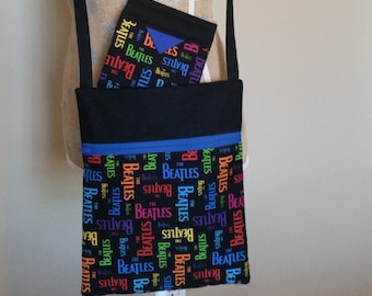 Handmade by CMarie with Beatles Fabric