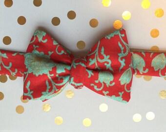 Vibrant Self-tie Bow Tie