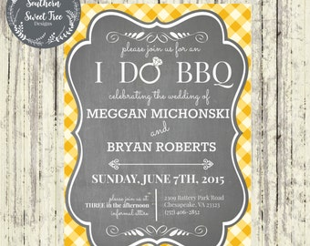 Father S Day Backyard Bbq Invite Cookout Picnic Party