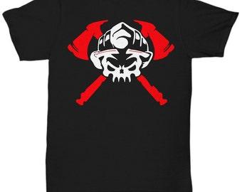 Firefighter T Shirt Tee t-shirt