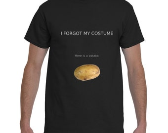 I forgot my costume. Here is a potato