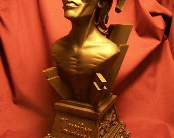 Lucifer Bust!!!! Satan Thelema Occult Morning Star