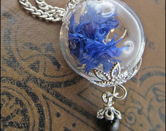 Small bead Flower necklace