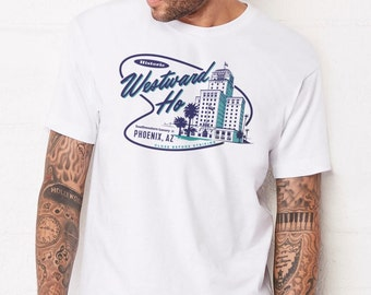 Westward Ho : Adult's Unisex Soft Blend T-Shirt