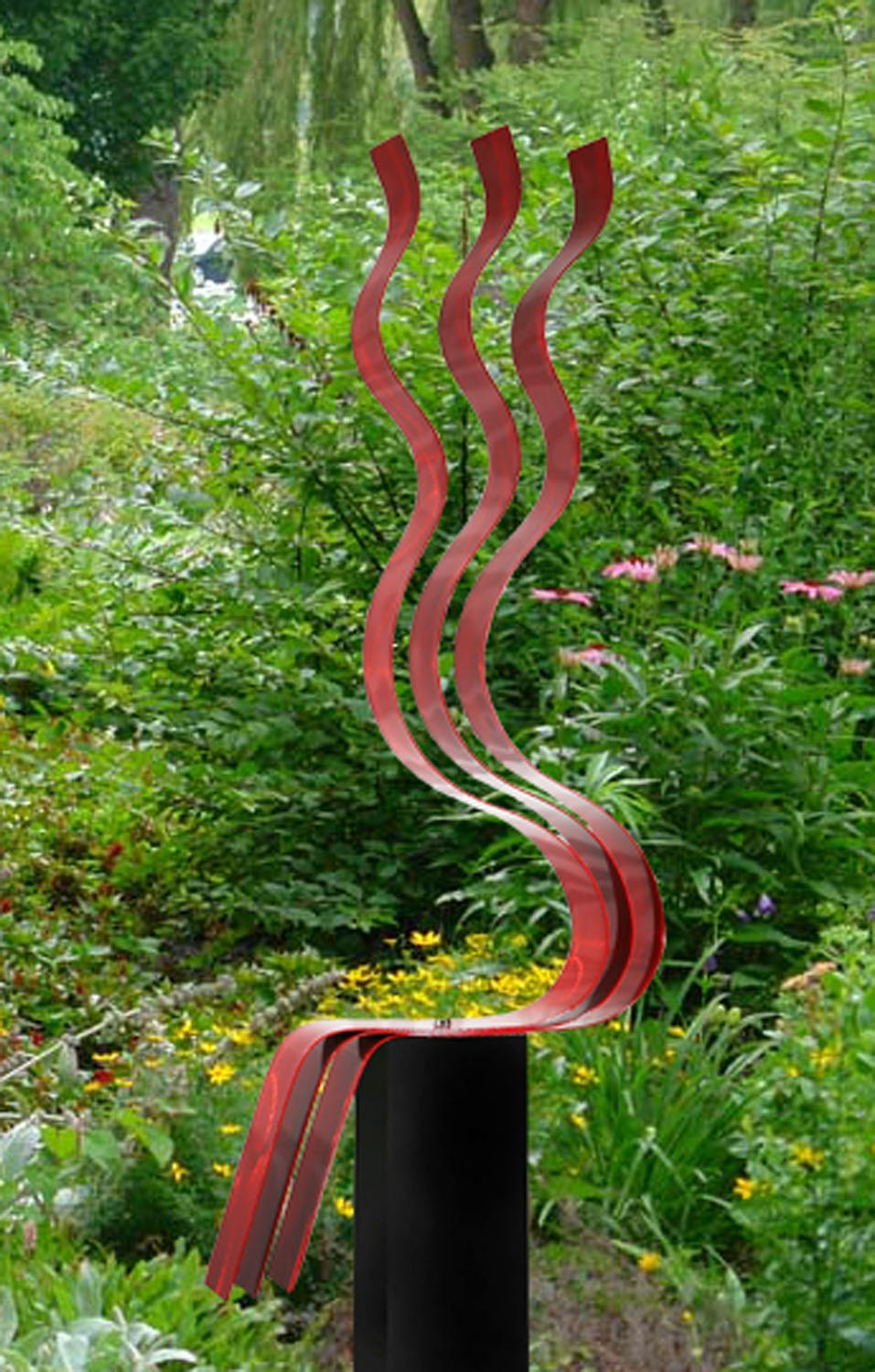 Modern Outdoor Metal Art Sculptures