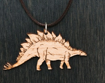 Stegasaurus Dinosaur Necklace