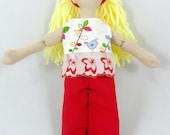 Blonde Doll - Toy Dress Up Doll For Kids