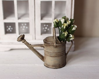 Dolls House Miniature Shabby Watering Can