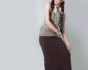 Long Skirt • Maxi • Floor Length Skirts • Tall & Petite Length • Clothing (No. 100)