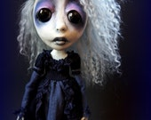 Reserve Custom for K Loopy Southern Gothic Art Doll Victorian Custom